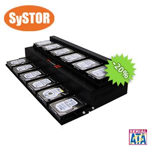 1 mit 11 Festplatte / Solid State Laufwerk (HDD / SSD) Kopierstation