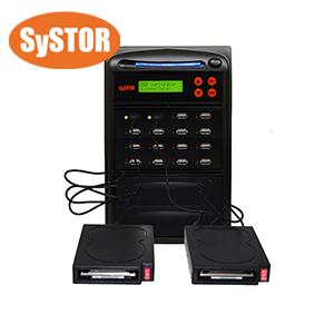 1 bis 15 Kopierstation für externe USB-Festplatten und USB-Flash-Speicherkarten