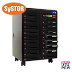 1 mit 16 SATA Festplatten Laufwerk Kopiersystem / Sanitizer