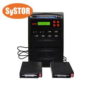 1 bis 7 Kopierstation für externe USB-Festplatten und USB-Flash-Speicherkarten