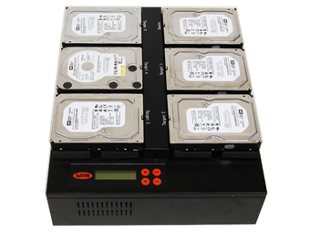 Burns multiple hard drive simultaneously at once.